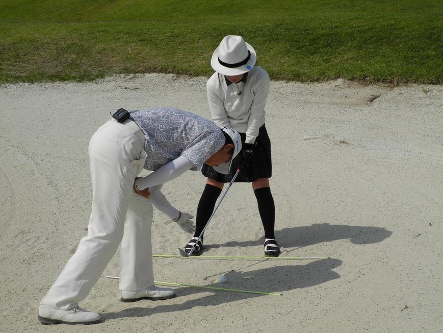 牧野裕のEnjoy Golf~バンカーショットについて