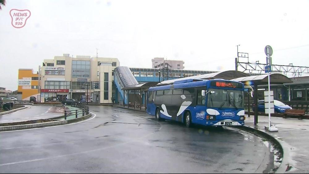 台風12号 外房地域への影響は 鴨川市の駅や海岸を取材