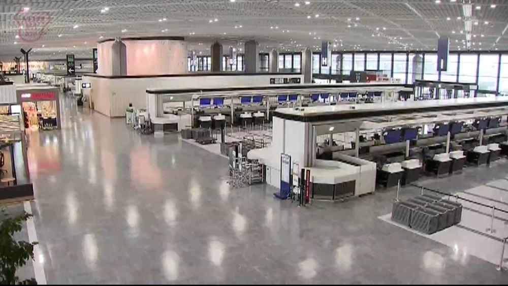 成田空港4月旅客数 約1年ぶり改善も依然厳しく