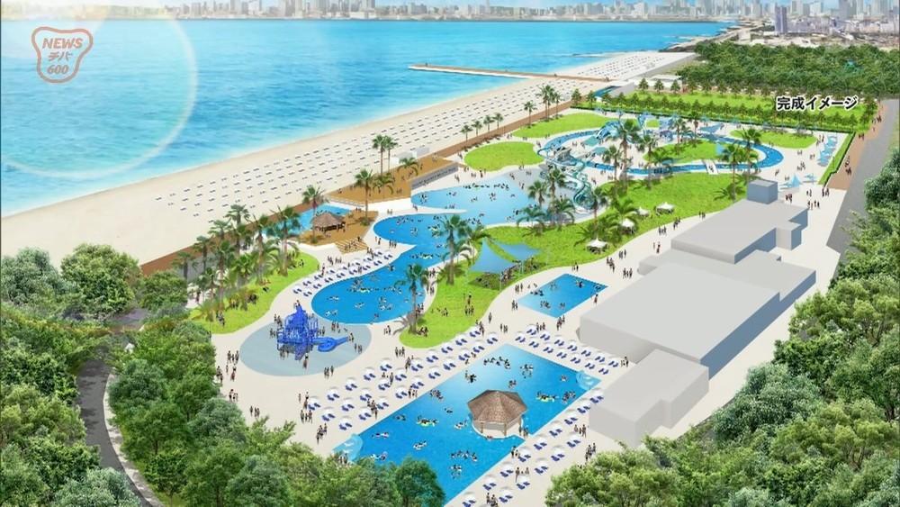 都市型ビーチに向けて・・・稲毛海浜公園で養浜工事始まる