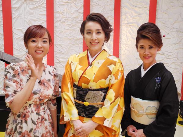 知里のミュージックエッセンスPartII ゲスト:水田竜子、美貴じゅん子