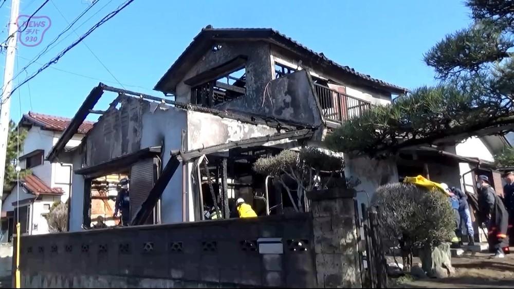 千葉市で火事 94歳女性死亡