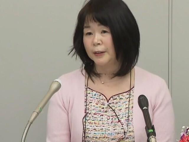 千葉県知事選挙 共産党職員の女性 金光氏が出馬表明   チバテレ+プラス