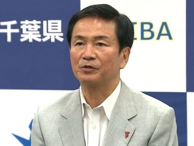森田健作千葉県知事「警報を出す考えない」