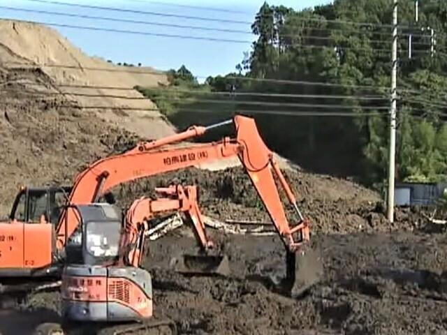 千葉県多古町 造成工事現場で土砂崩れ 作業員1人けが