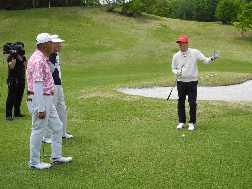 牧野裕のEnjoy Golf~20~30Yのアプローチについてアドバイス~