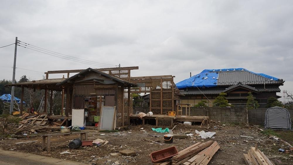 近所で助け合い「できる支援を」 市原・突風被害