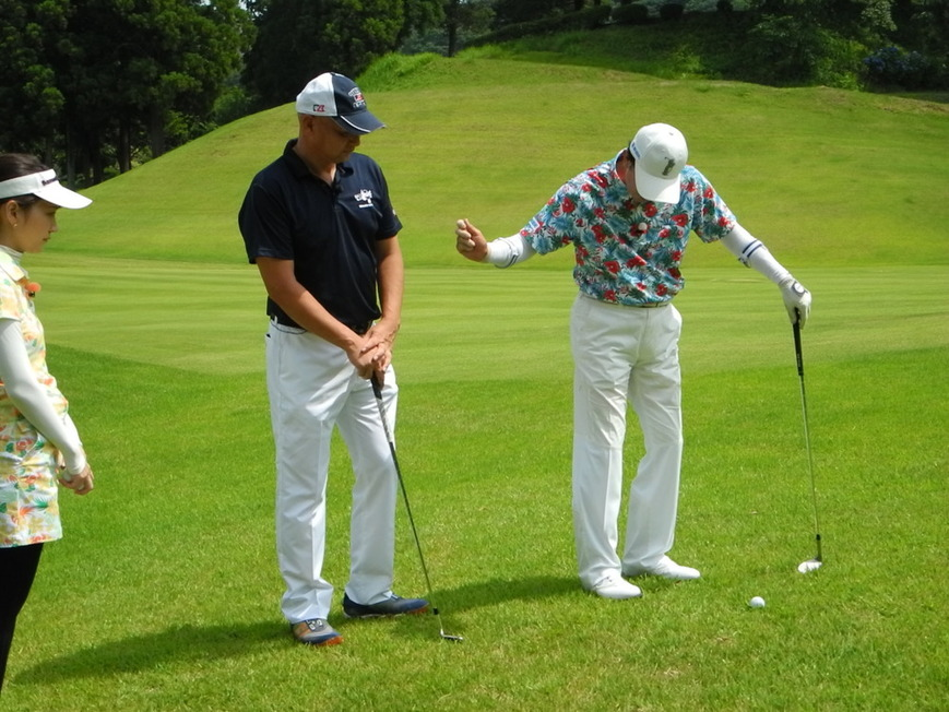 牧野裕のEnjoy Golf~30Y前後のアプローチについて
