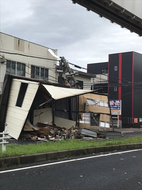 台風15号   千葉県内各地でも被害相次ぐ