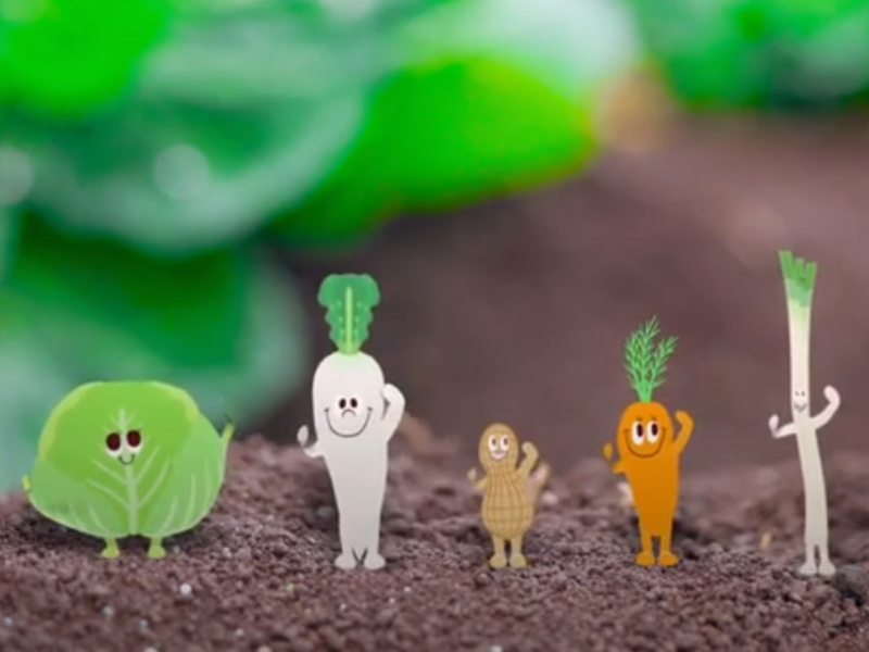 野菜やお米が踊りだす!? JA全農ちばが千葉県の農業をPR♪