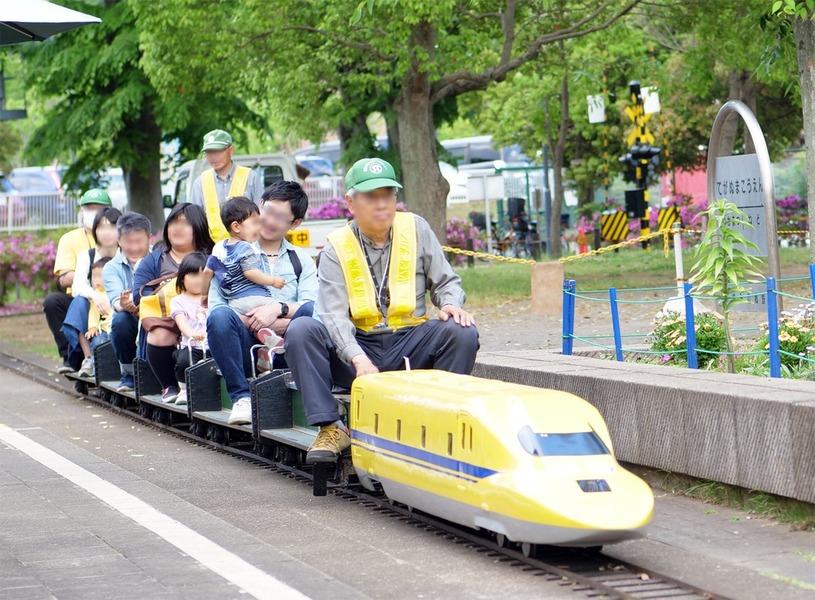 新幹線もあるミニSLでエンジョイ 我孫子市手賀沼公園「あゆみの郷鉄道」