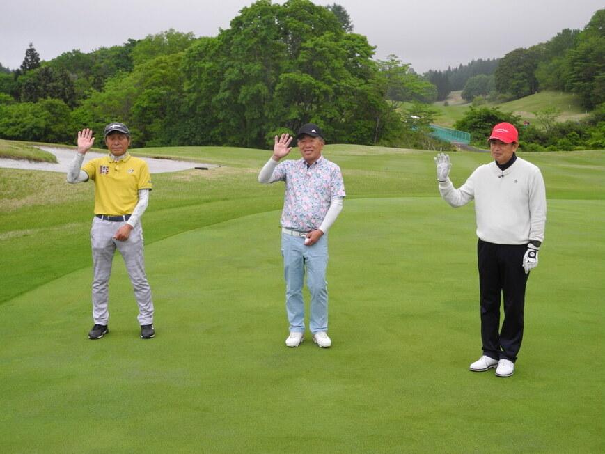 牧野裕のEnjoy Golf~ドライバーの打ち出しラインについてアドバイス~