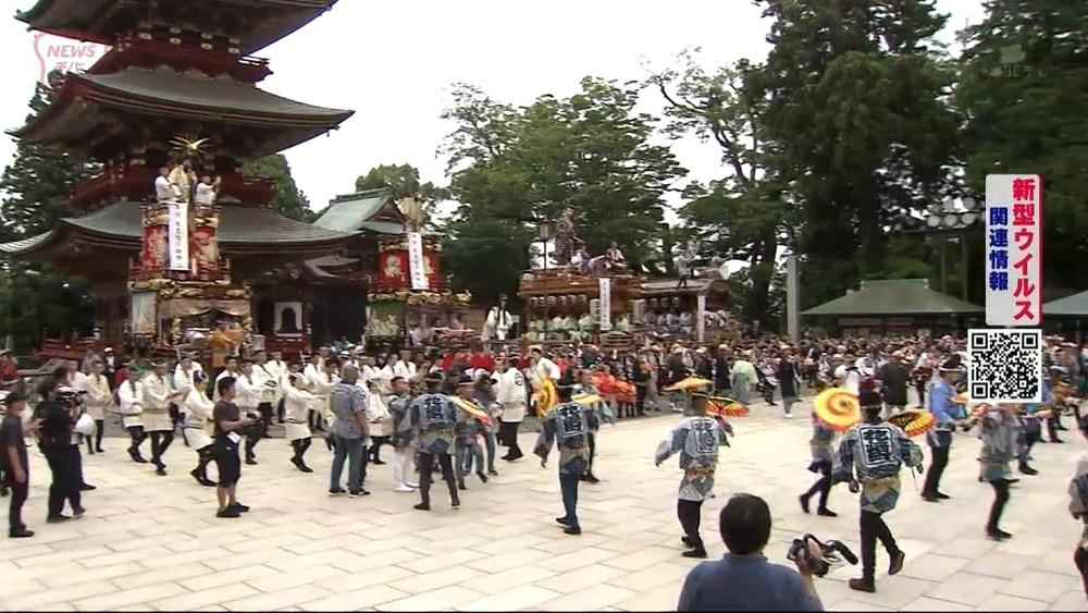 新型コロナ禍で成田祇園祭が中止に