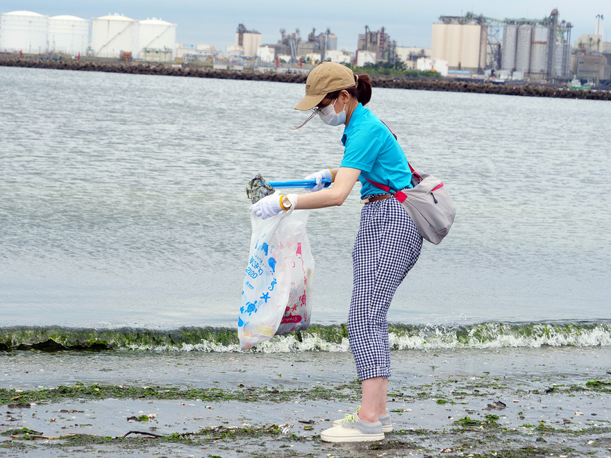 「プラごみアート」も!清掃活動を通じ地域活性化を